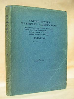 UNITED STATES WATERWAY PACKETMARKS; HANDSTAMPED AND PRINTED NAMES OF MAIL CARRYING STEAMBOATS ON ...