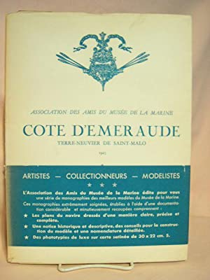 COTE D'EMERAUDE: TERRE-NEUVIER DE SAINT-MALO, 1925