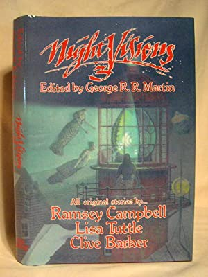 NIGHT VISIONS 3: Martin, George R.R., editor [Clive Barker, Ramsey Campbell, Lisa Tuttle]