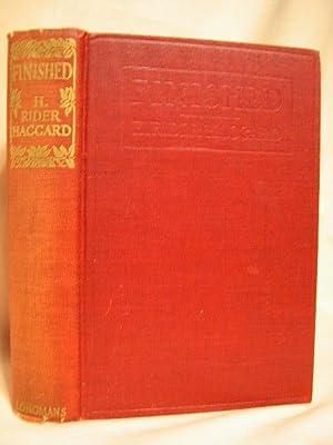 FINISHED: Haggard, H. Rider