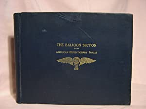 THE BALLOON SECTION OF THE AMERICAN EXPEDITIONARY FORCES