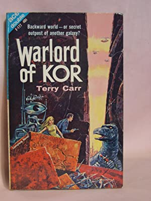 WARLORD OF KOR, bound with THE STAR WASPS: Carr, Terry, and Robert Moore Williams