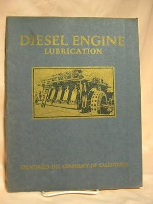 DIESEL ENGINE LUBRICATION