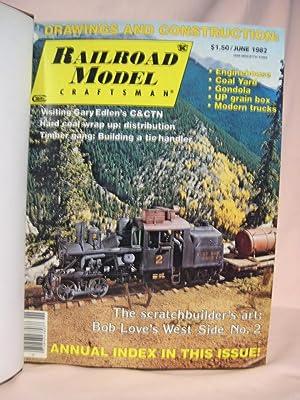 RAILROAD MODEL CRAFTSMAN; VOLUME 51, JUNE 1982 - MAY 1983: Koester, J. Anthony, editor