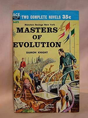 MASTERS OF EVOLUTION, bound with FIRE IN: Knight, Damon, and