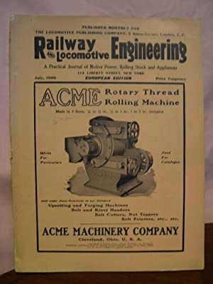RAILWAY AND LOCOMOTIVE ENGINEERING, A PRACTICAL JOURNAL