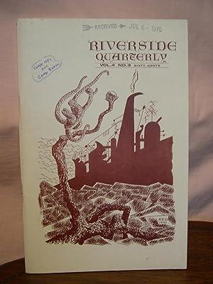RIVERSIDE QUARTERLY; VOL. 4, NO. 3, JUNE,: Sapiro, Leland, editor.