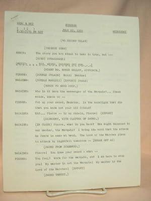 STRANGE. JULY 27, 1955 [radio script]: Grant, Maxwell (Walter Gibson)