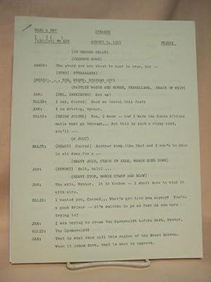 STRANGE. AUGUST 5, 1955 [radio script]: Grant, Maxwell (Walter Gibson)