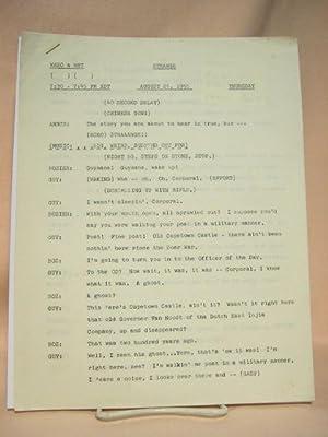 STRANGE. AUGUST 25, 1955 [radio script]: Grant, Maxwell (Walter Gibson)