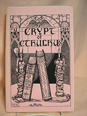 CRYPT OF CTHULHU 13: Price, Robert M., editor [H.P. Lovecraft]