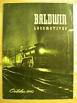 BALDWIN LOCOMOTIVES: VOLUME 19, NO. 2; OCTOBER, 1940