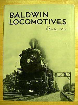 BALDWIN LOCOMOTIVES: VOLUME 16, NO. 2; OCTOBER, 1937