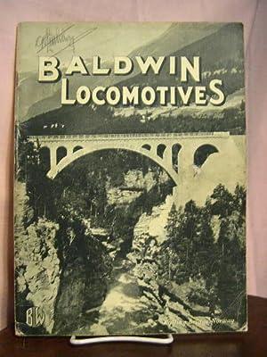 BALDWIN LOCOMOTIVES: VOLUME 10, NO. 1; JULY 1931