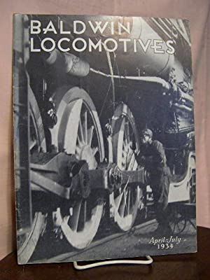 BALDWIN LOCOMOTIVES: VOLUME 13, NO. 1; APRIL-JULY, 1934