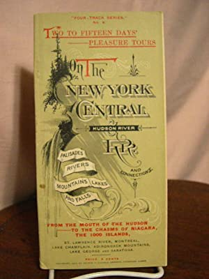 """ON THE NEW YORK CENTRAL & HUDSON RIVER RR AND CONNECTIONS. """"FOUR-TRACK SERIES"""" No. 6."""