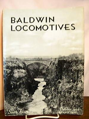BALDWIN LOCOMOTIVES: VOLUME 14, NO. 2-3; OCTOBER, 1935 - JANUARY, 1936