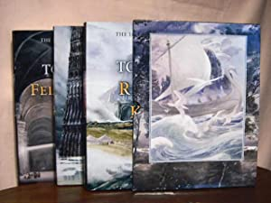 THE LORD OF THE RINGS in three volumes (THE FELLOWSHIP OF THE RING, THE TWO TOWERS, and THE RETURN ...