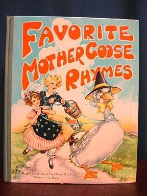 FAVORITE MOTHER GOOSE RHYMES