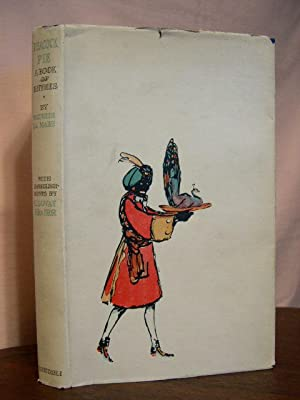 PEACOCK PIE; A BOOK OF RHYMES, WITH EMBELLISHMENTS BY C. LOVAT FRASER: de la Mare, Walter