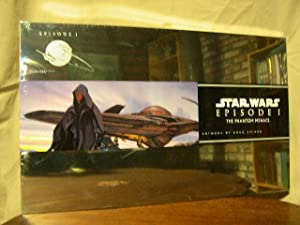 STAR WARS EPISODE I: THE PHANTOM MENACE, A COLLECTION OF TWENTY LITHOGRAPHIC REPRODUCTIONS
