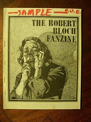 THE ROBERT BLOCH FANZINE: Larson, Randall, editor