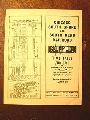 "C.E.R.A. BULLETIN 4, ""CHICAGO SOUTH SHORE & SHOUTH BEND RAILROAD: Johansson, A.V. [George ..."