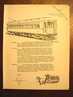 C.E.R.A. BULLETIN 58, REPORT OF THE CENTRAL ELECTRIC RAILFANS' ASSOCIATION FOR THE FISCAL YEAR...