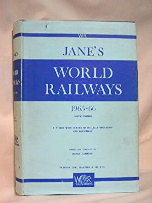 JANE'S WORLD RAILWAYS 1965-66: Sampson, Henry, editor