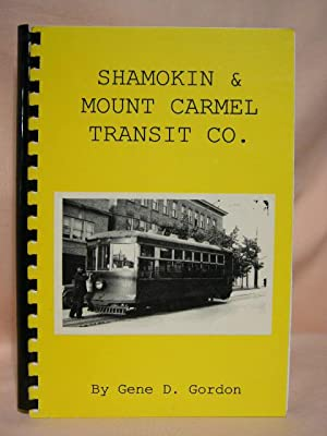 SHAMOKIN & MOUNT CARMEL TRANSIT CO.: Gordon, Gene D.