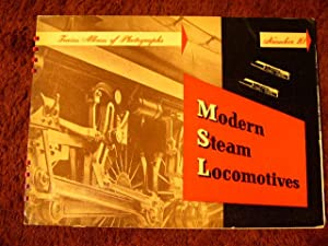 TRAINS ALBUM OF RAILROAD PHOTOGRAPHS, BOOK 10, MODERN STEAM LOCOMOTIVES