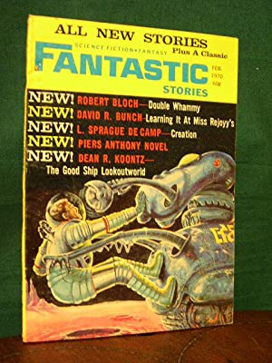 FANTASTIC STORIES; FEBRUARY 1970, VOLUME 19, NUMBER 3: White, Ted, editor