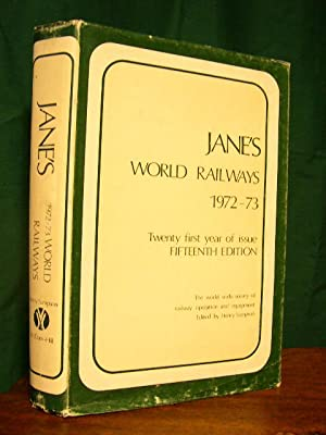 JANE'S WORLD RAILWAYS 1972-73: Sampson, Henry, editor