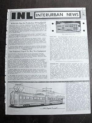 INL. INTERURBAN NEWS LETTER: THE NATIONAL ELECTRIC RAILWAY DIGEST. JUNE, 1945: Swett, Ira L., ...