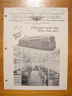 TROLLEY SPARKS; VOLUME 2, NUMBER 11: Neuburger, Barney, editor