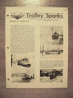 TROLLEY SPARKS; BULLETIN 67: Neuburger, Barney, editor