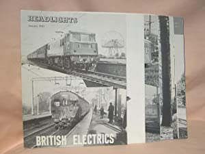 HEADLIGHTS. VOLUME 24, NUMBERS 1-12, 1962, JANUARY-DECEMBER