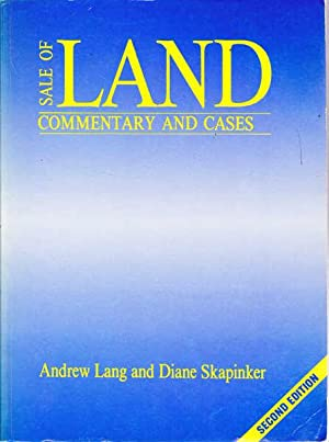 Sale of Land: Commentary and Cases