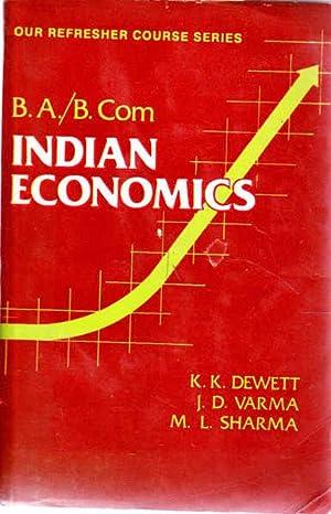 Indian Economics: Dewett, K. K,