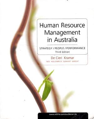 Human Resource Management in Australia: Strategy /: De Cieri, Helen
