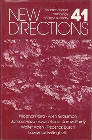 New Directions 41: An International Anthology of: Laughlin, J. (Ed.);