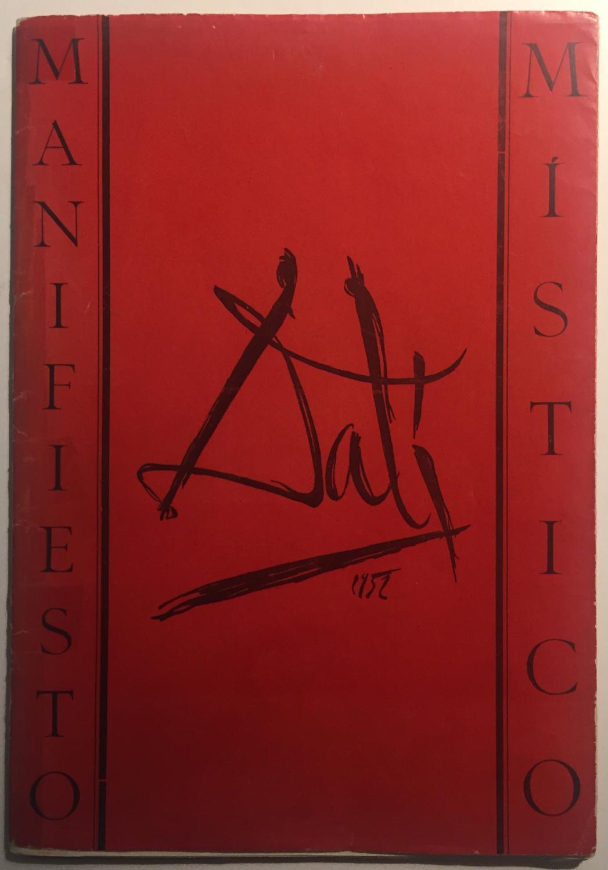 Manifiesto_Místico_Salvador_Dalí_J_Font_Espina_Assez_bon_Couverture_souple