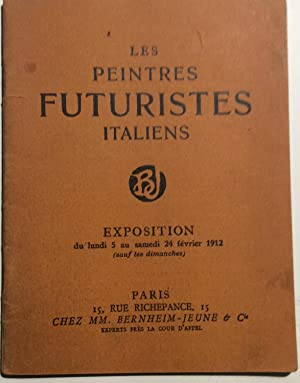 Les Peintres Futuristes Italiens. Galerie Bernheim-Jaune, París