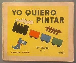 Yo Quiero Pintar. 3ª serie. N. 1: Tono (Antonio de