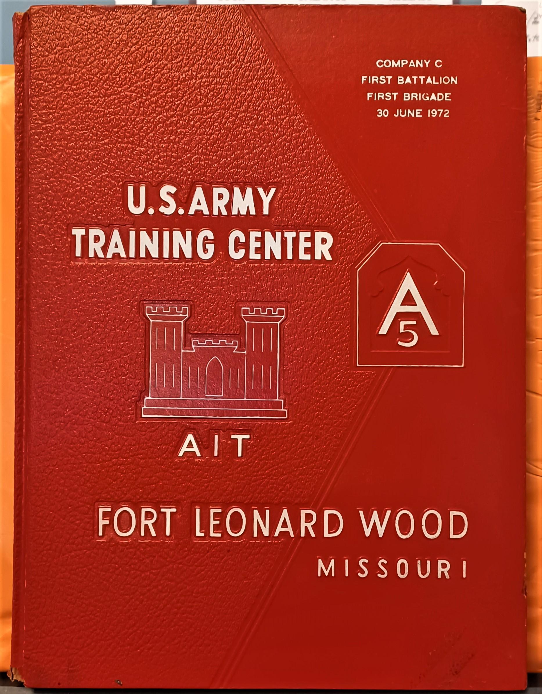 U  S  Army Training Center Fort Leonard Wood