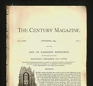Life Of Napoleon Bonaparte, Part I: Napoleon's: Sloane, William M.