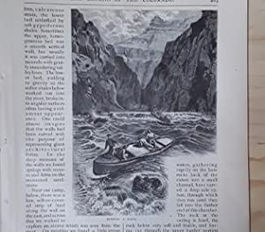 The Canons Of The Colorado, Complete in Three Parts from Scribner's Magazine: Powell, John ...
