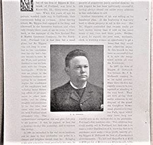 Full-Page Ad With Portrait