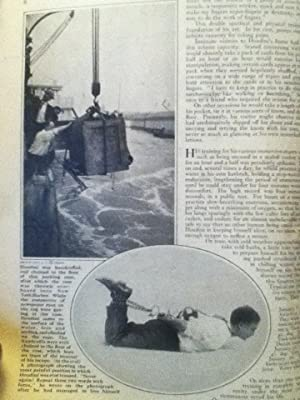 Houdini The Master Magician Part I: His Life And Some Of His Secrets in The American Magazine: ...