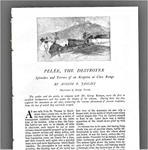 Pelee The Destroyer: Spendors And Terrors Of: Jaccaci, August F.